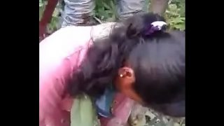 Indian Girl fucked in jungle
