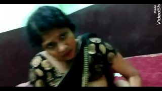 Indian horny aunty cheating with neighbor