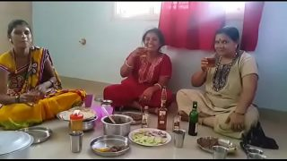 Village Aunties enjoying party with wine than fucking with her husbands… HD